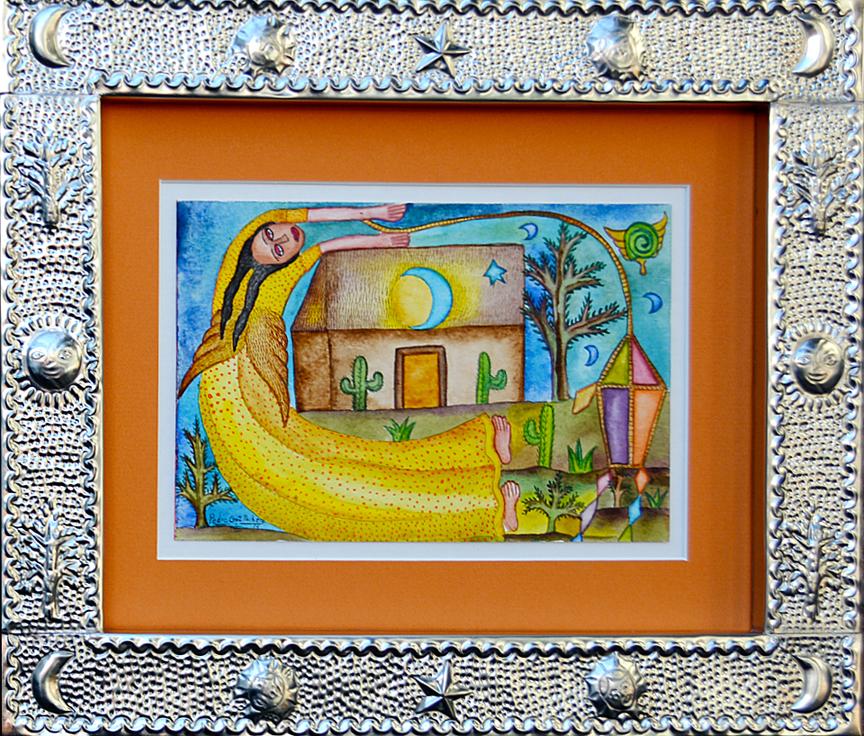 Paintings by Pedro Cruz Pacheco - woman