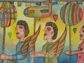 Paintings by Pedro Cruz Pacheco - convite