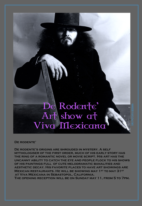 De Rodonté Art Show at Viva!