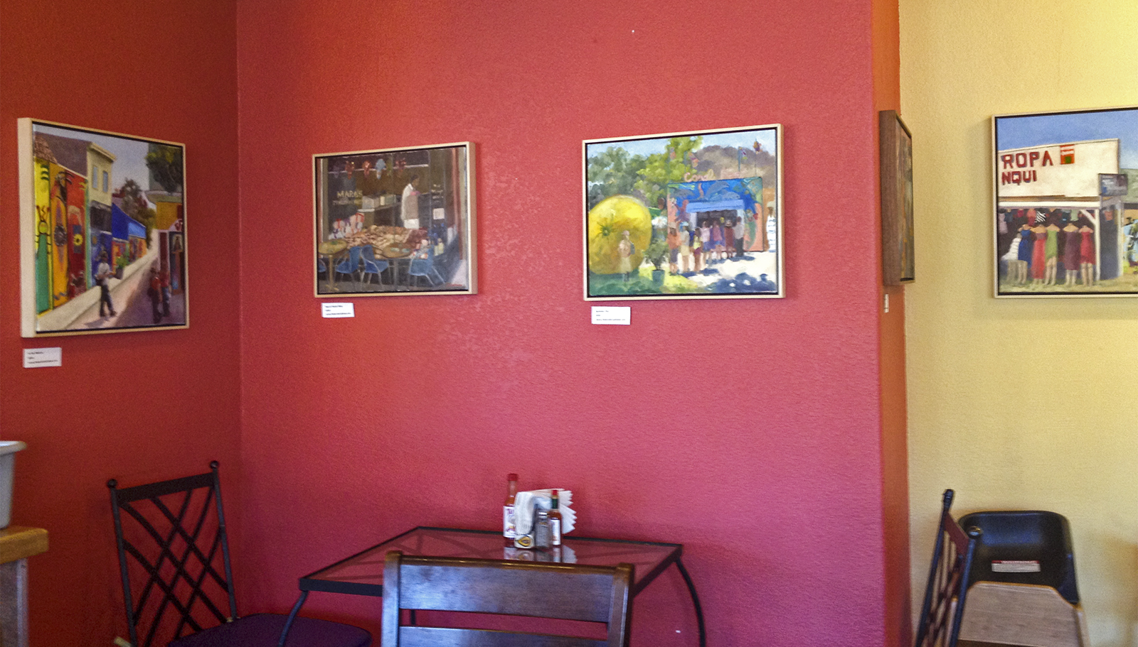 Artwork at Viva Mexicana