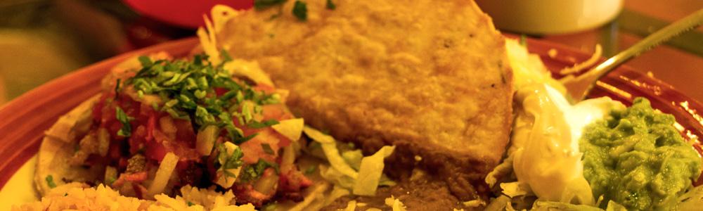 Viva Mexicana mexican food menu